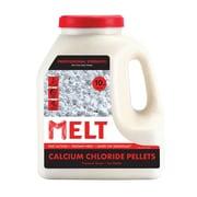 Snow Joe MELT Calcium Chloride Pellets Professional Strength Ice Melter 10 lb. Jug (MELT10CCP-J)
