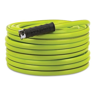 Sun Joe Heavy-Duty Garden Hose, 75-Foot 1/2-Inch (AJH12-75)