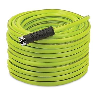 Sun Joe Heavy-Duty Garden Hose, 100-Foot 1/2-Inch (AJH12-100)