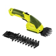 Sun Joe 7.2 V Cordless 2-In-1 Grass Shear and Hedge Trimmer (HJ604C)