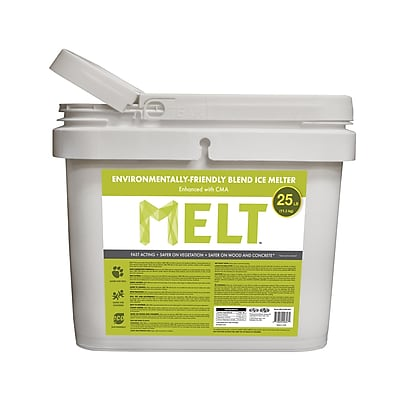 Snow Joe MELT Environmentally-Friendly Blend Ice Melter w/ CMA 25 lb. Bucket (MELT25EB-BKT)