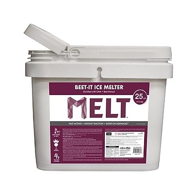 Snow Joe MELT Beet-It Ice Melter w/ CMA & Beet Extract 25 lb. Bucket (MELT25IB-BKT)