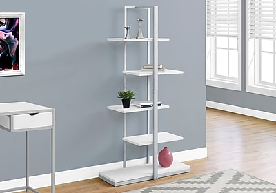 Monarch Specialties Bookcase White I 7233