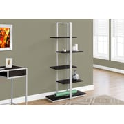 Monarch Specialties Bookcase Cappuccino I 7234