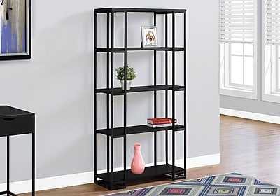 Monarch Specialties Bookcase Black I 7240