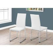 Monarch Specialties Dining Chair White (I 1093)