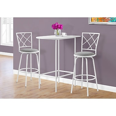 Monarch Specialties Accent & Coffee Tables White I 2376