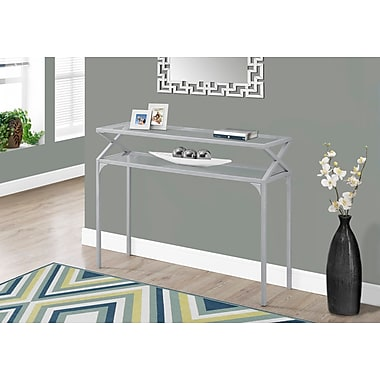 Monarch Specialties Accent & Coffee Tables Silver I 2115
