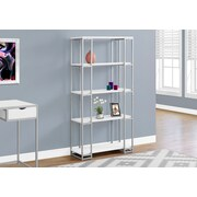 Monarch Specialties Bookcase White I 7242
