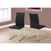 Monarch Specialties Dining Chair Black (I 1092)