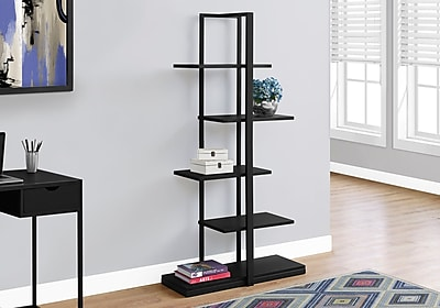 Monarch Specialties Bookcase Black I 7231