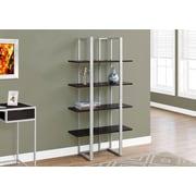 Monarch Specialties Bookcase Cappuccino I 7239