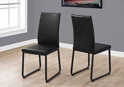 Monarch Specialties Dining Chair Black (I 1106)