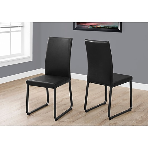 Monarch Specialties Dining Chair Black I 1106 Staples