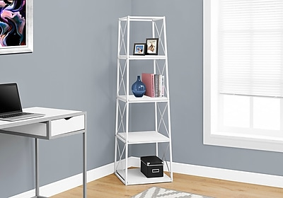 Monarch Specialties Bookcase White I 7247