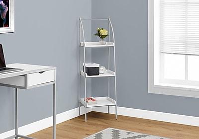 Monarch Specialties Bookcase White I 7229