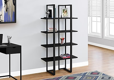 Monarch Specialties Bookcase Black I 7236