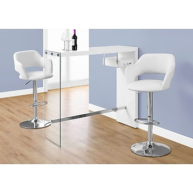 Monarch Specialties Accent & Coffee Tables Glossy White I 2348