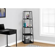 Monarch Specialties Bookcase Black I 7246