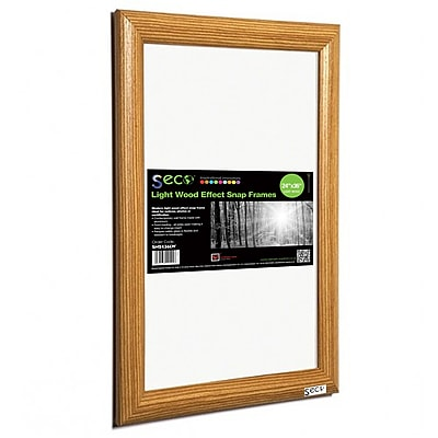 Seco® Front Load Easy Open Snap Poster Frame, 24