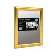 """Seco® Front Load Easy Open Snap Poster Frame, 8.5"""" x 11"""", Polished Gold Effect (SN8511POLG)"""