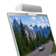 GOgroove USB Laptop Speaker Clip-On Soundbar (4748054)