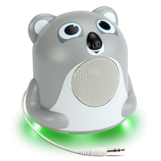 GOgroove Mini Cute Animal Battery Powered Portable Speaker with LED Night Light (Koala Pal Jr) (4496405)