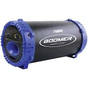 Naxa, Boomer Impulse LED Bluetooth Boom Box, Black & Blue, (NAS-3084 BLUE)