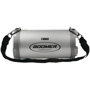 Naxa, Boomer Impulse Shine Bluetooth Boom Box with LED Lights, Gray, (NAS-3083)