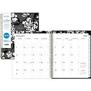 """2021 Blue Sky 8.5"""" x 11"""" Planner, Baccara Dark, Multicolor (110211-21)"""