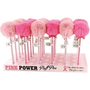 DM Merchandising Breast Cancer Awareness Puff Pom Pom Pen (DLR349451)
