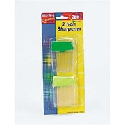 Bulk Buys Two-Hole Pencil Sharpener Set Case Of 24 (DLRDY138091)
