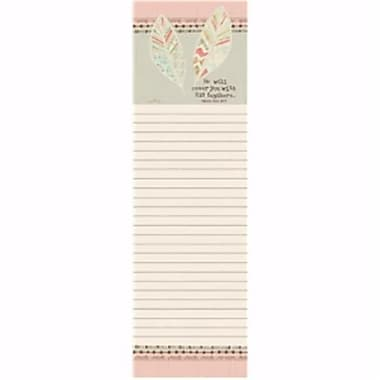 Legacy Publishing Group List Pad-Magnetic-His Feathers, 2.75 x 9.75 - June (ANCRD2178328)