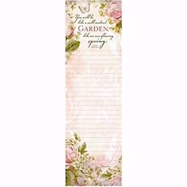 Legacy Publishing Group List Pad-Magnetic-Everflowing Spring, 2.75 x 9.75 - June (ANCRD2178840)