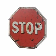 Home Decor Light Up Stop Sign (KHRG1806)