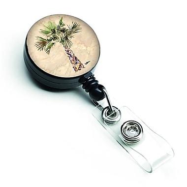 Carolines Treasures Palm Tree Retractable Badge Reel (CRLT126954)