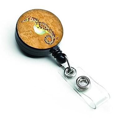 Carolines Treasures Seahorse Retractable Badge Reel (CRLT126984)