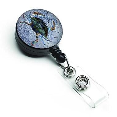 Carolines Treasures Crab Retractable Badge Reel (CRLT126893)