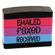 U. S. Stamp & Sign Stack Stamp, Fluorescent Ink (AZTY15838)