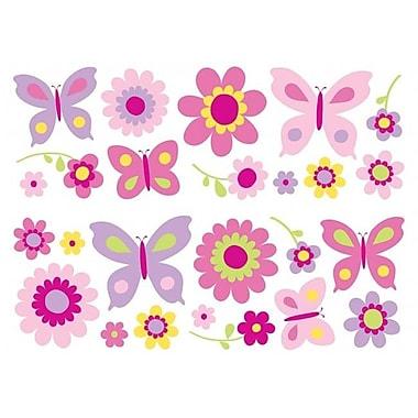 Fun4Walls Flowers & Butterflies Stikarounds (BSHF602)