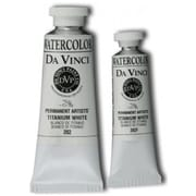 Da Vinci 15ml Watercolor Paint - Titanium White (ALV13754)