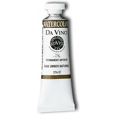 Da Vinci 15ml Watercolor Paint - Raw Umber Natural (ALV13750)