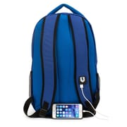 M-Edge Relay Backpack with 6000 mAh Battery Neon Blue