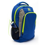 M-Edge Relay Backpack with 6000 mAh Battery, Neon Blue (BPK-RY6-N-BL)