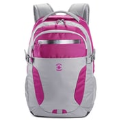 Visor Backpack Pink and Grey