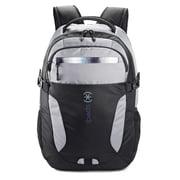 Visor Backpack Black and Grey