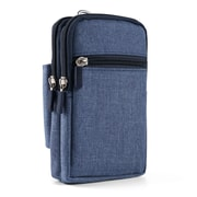 Blue Universal Utility Travel Waist Pouch Carrying Case