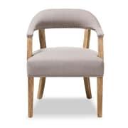 Baxton Studio Macee 24.02'' W x 27.56'' D Accent Chair, Beige (7367-STPL)