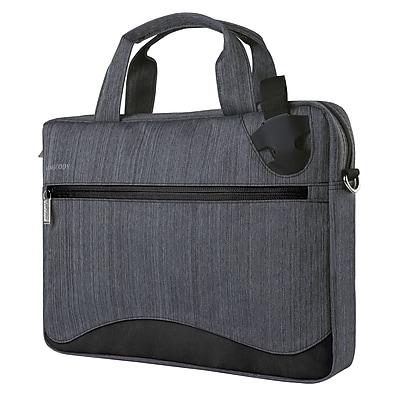 Wave Laptop Messenger Bag 17 Inch, Black