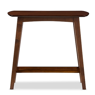 Baxton Studio Sacramento 31.2'' W x 14.04'' D Console Table, Brown (6629-STPL)
